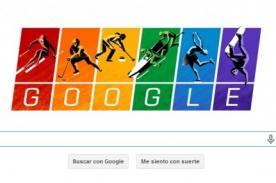 Google presenta nuevo doodle por los Juegos Olímpicos de Invierno