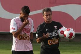 La Selección Peruana venció 1-0 a la Sub 20 en el primer partido de práctica