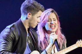 Demi Lovato prepara canción con Nick Jonas