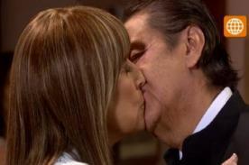 AFHS: Peter y Socorro no soportan la tentación y se besan - Video