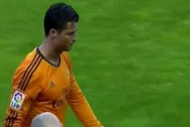 Liga BBVA: Cristiano Ronaldo sale lesionado en el duelo ante Valladolid - VIDEO