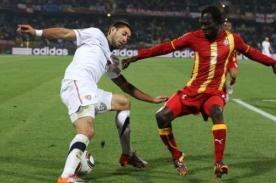 ¿A qué hora juegan Ghana contra Estados Unidos? – Hora Peruana – Mundial Brasil 2014