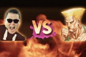 ¿PSY y Guille de Street Fighter juntos en 'Oppa Gangnam Style'? [Video]