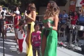 Tilsa Lozano: Las Vengadoras bailaron con niñas en show de EEUU [Video]
