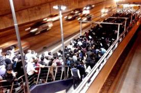 Usuarios reportan caos en Metropolitano por el Señor de los Milagros