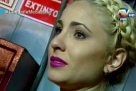 Yamila Piñero sufre ataque de nervios y arma escándalo en vivo - VIDEO
