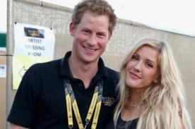 Ellie Goulding y el príncipe Harry estarían en coqueteos