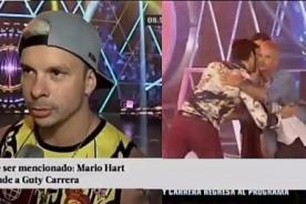 Esto Es Guerra: Mario Hart rompe su silencio y le responde al humillado Guty Carrera