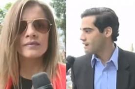 Alejandra Baigorria y Guty se vieron las caras en el juzgado - VIDEO