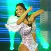 El Gran Show 2011: Leysi Suárez se presentó en infartante atuendo para bailar Disco