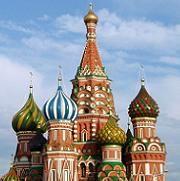Primer Doodle: La Catedral de San Basilio - Moscú - Rusia