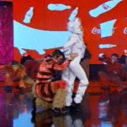 El Gran Show: Maricielo Effio vistió como gato en duelo contra Jean Paul Santa María