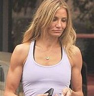 Cameron Diaz tendría musculosos brazos para complacer a su novio