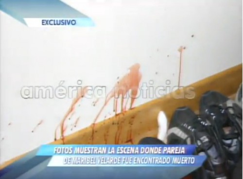 Video: Imágenes de la escena donde murió la pareja de Maribel Velarde