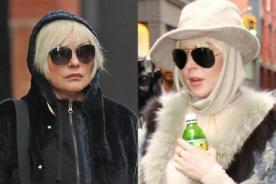 Fotógrafos confunden a Lindsay Lohan con mujer de 66 años