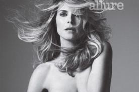 Heidi Klum se desnuda para la revista Allure