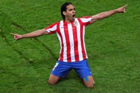 Radamel Falcao: Quería ganar la Europa League nuevamente