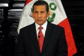 Independencia del Perú: Mensaje presidencial 2012 de Ollanta Humala en video