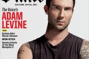 Adam Levine engalana la nueva edición de la revista Inked (Fotos)
