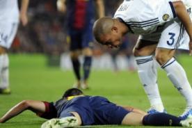 Real Madrid: Pepe criticó a Andrés Iniesta y al Barcelona por teatreros