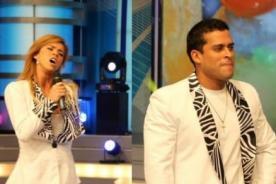 Combate: Christian Domínguez recibe fuerte 'cachetada' de Sheyla - Video