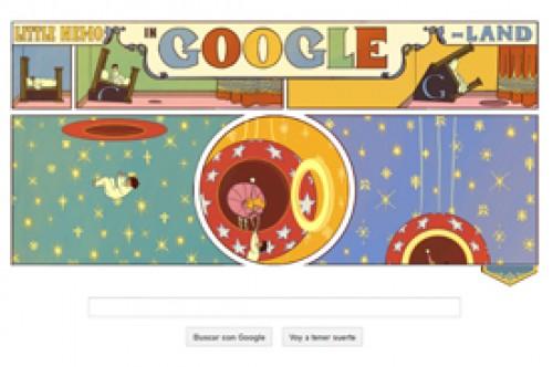 Google celebra a Winsor McCay con soñador Doodle sobre Little Nemo