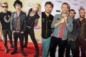MTV EMA 2012: Green Day VS Coldplay como Mejor Artista Rock