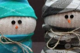 Adornos Navideños: Haz un Muñeco de Nieve con materiales caseros