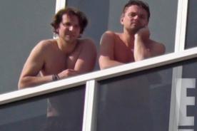Leonardo DiCaprio y Bradley Cooper disfrutan Miami juntos