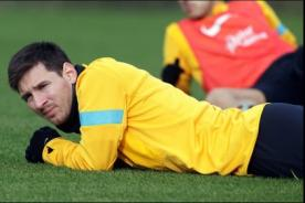 Barcelona: Lionel Messi no entrena por fiebre - Liga Española - Video