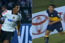 Vídeo: Goles del Corinthians vs. Boca Juniors (1-1) - Copa Libertadores 2013