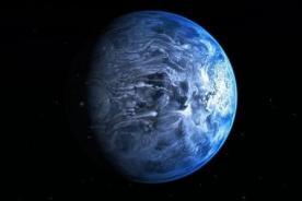 NASA: El Hubble encuentra un planeta azul