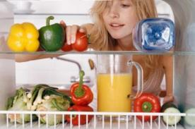 Científicos sugieren llenar refrigerador con frutas y verduras para no romper dieta