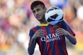 Neymar: Es extraño jugar ante Santos, pero estoy feliz por el Barcelona