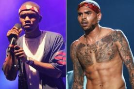 Frank Ocean publica camiseta en contra de Chris Brown