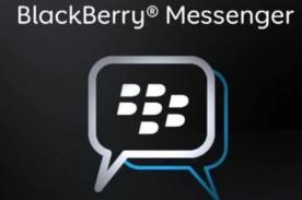 BlackBerry suspende descargas de BBM para Android y iPhone