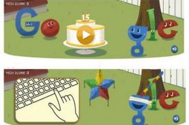 Piñata de Google por aniversario provoca adicciones entre usuarios