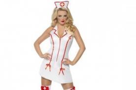Feliz Halloween - look de una sexy enfermera - disfraces para adultos
