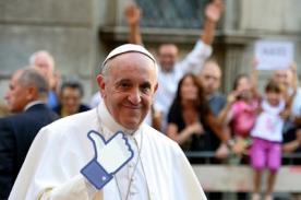 Facebook: Papa Francisco ocupa primer lugar en Top 10 de temas más populares