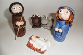 Adornos Navideños: Cómo hacer un nacimiento navideño de cartón y papel