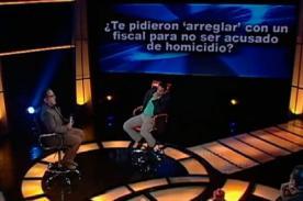 ¿Pidieron a Luis Miguel Llanos arreglar con un fiscal para no ser acusado?