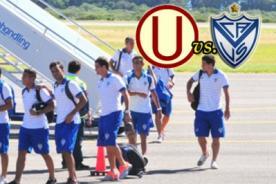 Copa Libertadores 2014: Vélez Sarsfield aterrizó en Lima