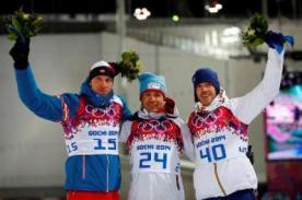 Sochi 2014: Noruega continúa en la cima del medallero