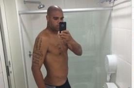 Atlético Paranaense: Adriano sorprende con su nuevo estado físico