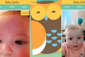 Baby Selfie la tierna aplicación para que los nenes se hagan autorretratos