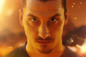 La firma Nike compartió tres videos del jugador Zlatan Ibrahimovic