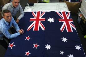 Nueva Zelanda dispuesta a cambiar su bandera para no recordar su pasado