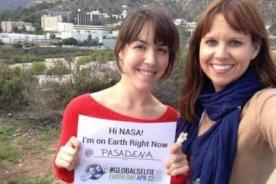 NASA pide a la población mundial que se tomen 'selfies'