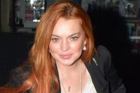 Lindsay Lohan se pasea por Londres sin Brasier [Fotos]