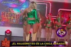 La Noche es Mía: Chicas Doradas de Brasil retan el #nalgometro [Video]